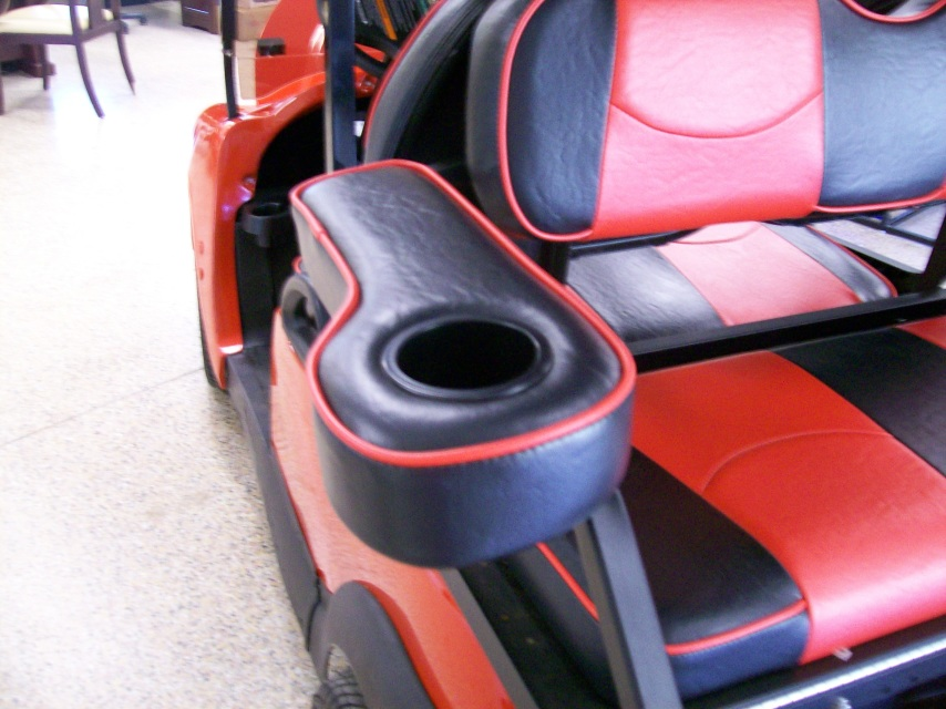 Rear Seat Arm Rest With Cup Holder